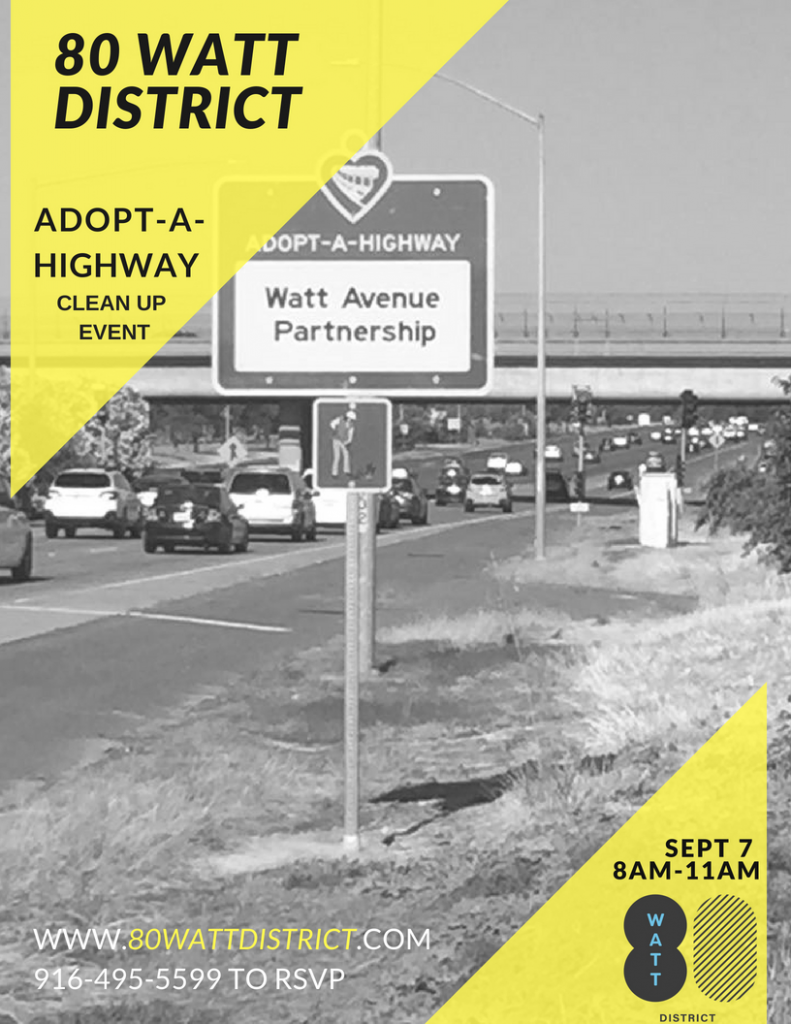 Adopt-a-Highway-I80 & Watt Avenue